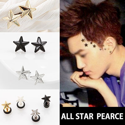 EXO FASHION ITEMS!3D ALL STAR  PEARCE/EARRING