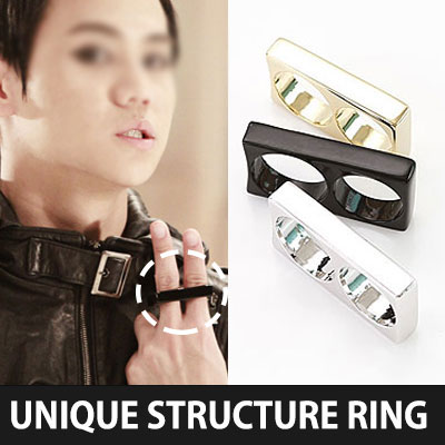 EXO Ming , Super Junior Eunhyuk , hot items in the big break in the K-POP Idol Stars such as BEAST   Yosopu!UNIQUE STRUCTURE RING