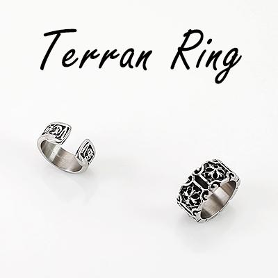Sensuous design! Firm fit! Terran ring (2TYPE)