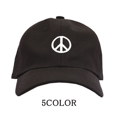 ★ to choose 5 color ★PGL PEACE MARK BALL CAP