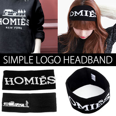 K-POP idol, hip-hop dance activities essentials! Ohsyare logo embroidered headband