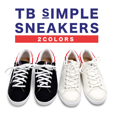 [25.0~28.0cm]TB SIMPLE SNEAKERS (2COLORS)