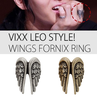 [VIXX LEO STYLE!] FORNIX WINGS RING