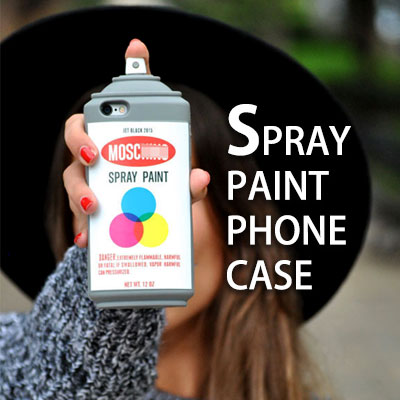 SPRAY PAINT PHONE CASE (iPhone only)