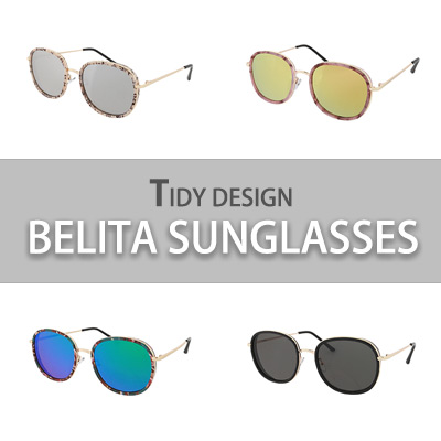 TIDY DESIGN BELITA SUNGLASSES(4COLORS)