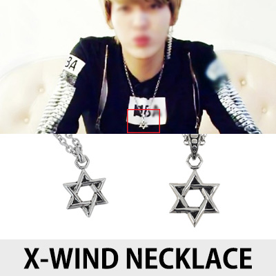 [K-POP IDOL EXO STYLE]X-WIND NECKLACE