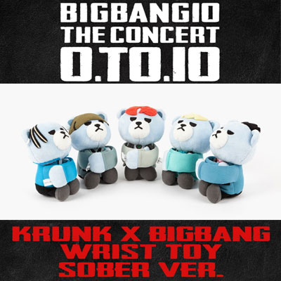 【OFFICIAL GOODS】BIGBANG OFFICIAL GOODS KRUNK X BIGBANG WRIST TOY SOBER VER.