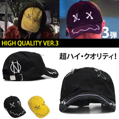 ★High Quality VER.★VINTAGE FACE SAFE PIN BALL CAP