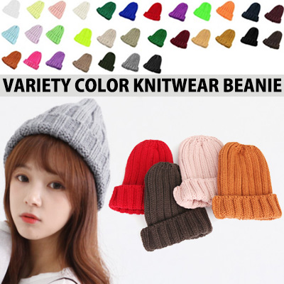 31 COLOR BEANIES!VARIETY COLOR KNITWEAR BEANIE