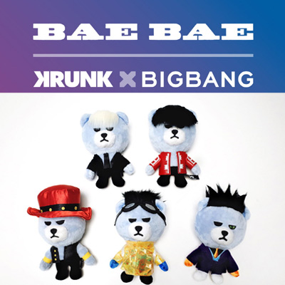 <OFFICIAL GOODS>BIGBANG OFFICIAL GOODS KRUNK X BIGBANG BAEBAE VER.