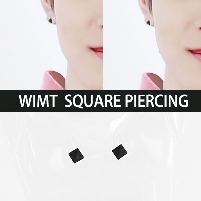 GOT 7 STYLE!WIMT  SQUARE PIERCING