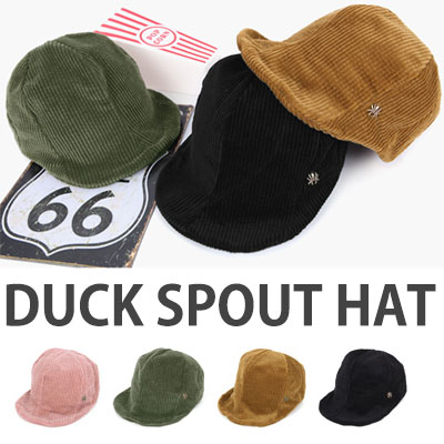 DUCK SPOUT CORDUROY HAT