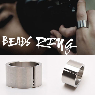 BEAST STYLE! SULGICAL STEEL RING