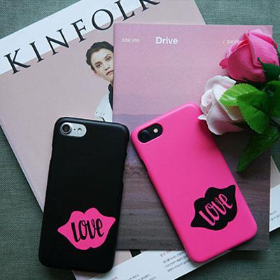 [HARD&TOUGH]Love Lips Hard Phone Case