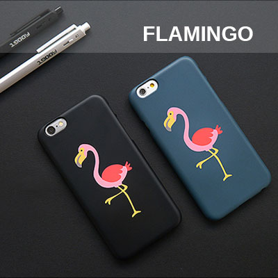 [HARD&TOUGH] Flamingo Hard Phone Case