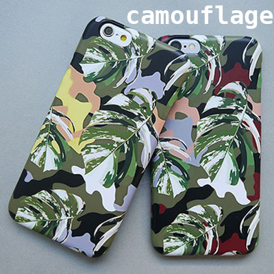 [HARD&TOUGH] Camouflage Hard Phone Case (2color)