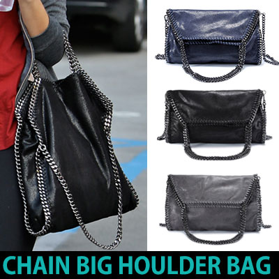 CHAIN BIG SHOULDER BAG