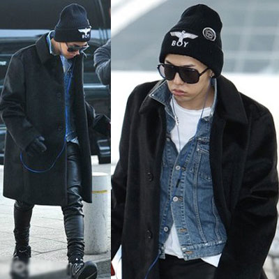 G-DRAGON STYLE!★ popular hat ★ BOY LONDON st. print beanie