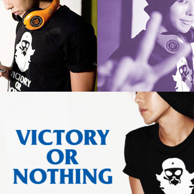 ★DAY SHIPPING★ VICTORY OR NOTHING T- shirt planning commodity ★ G- Dragon has been worn in Photos
