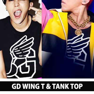 g- Dragon WOLRD TOUR fashion !!! red No Wings G sleeves of G-DRAGON was intense hairstyle in which the permanent