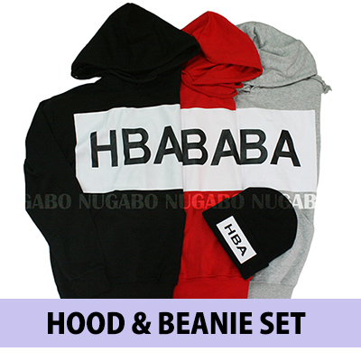 ♪♪ HAPPY EVENT ♪♪ HBA Parker & knit hat @ 2 points together ¥ 3300 !!!!! Korea fashion mail order / Biggurogo