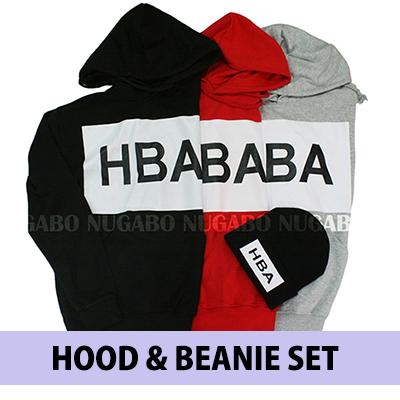 ♪♪ HAPPY EVENT ♪♪ HBA Parker & knit hat @ 2 points together ¥ 3300 !!!!! Korea fashion mail order / Biggurogo