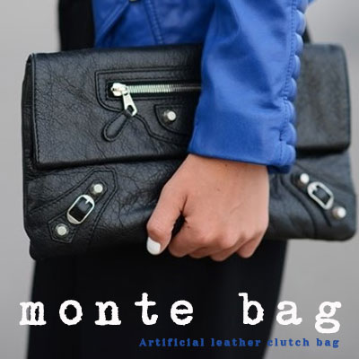 BUCKLE MONTE BAG/CLUTCH BAG/CROSS BAG