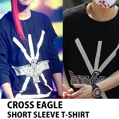 ★DAY SHIPPING★ Big Bang Stage | boy london eagle T- shirts ▲ b2st Jun Hyun and vixx (Bix) · BOY FRIEND wear