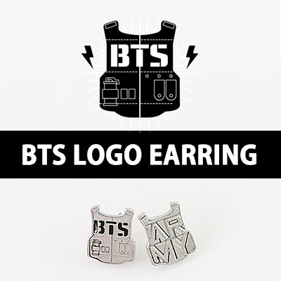 BTS logo earring