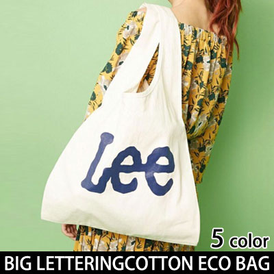 BIG LETTERING ALPHABET COTTON BASIC ECO BAG