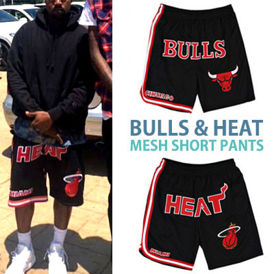 BULL&HEAT MESH SHORT PANTS