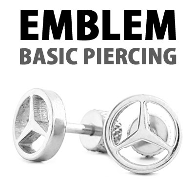 [1ea]EMBLEM BASIC PIERCING