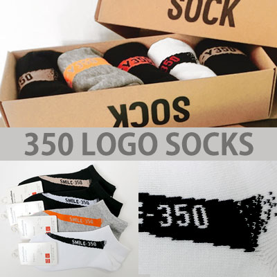 350 LOGO & LINE 4COLOR SHORT SOCKS