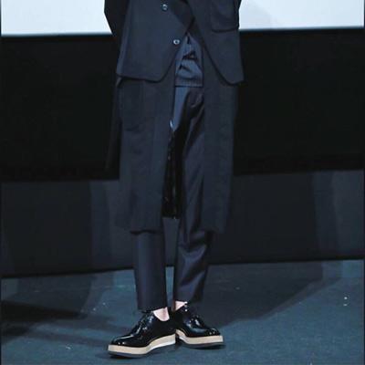 [24.5~28.5cm]Korean actor kang dongwon st.CORK HIGH SOLE CLIPPER