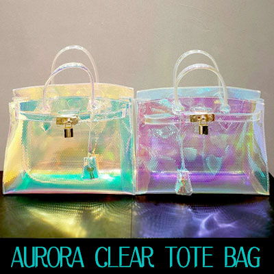 AURORA CLEAR TOTE BAG