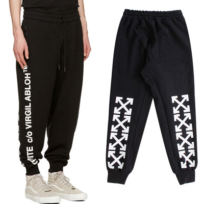 SIDE LOGO & ARROW POINT JOGGER PANTS