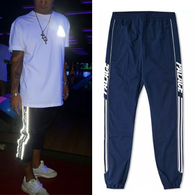 SCOTCHLIGHT LINE SIDE ZIPPER JOGGER PANTS