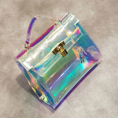 AURORA CLEAR CUTI TOTE&SHOULDER BAG