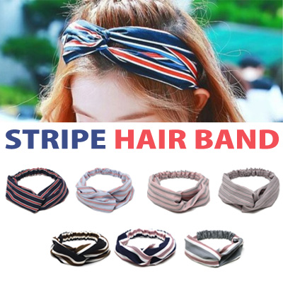 RED VELVET IRENE st. STRIPE HAIR BAND