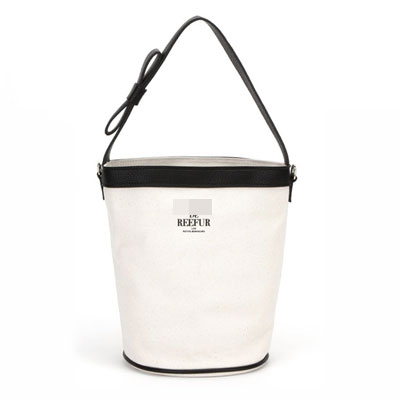 BUCKET CANVAS BAG(IVORY/KHAKI/NAVY/BLACK)