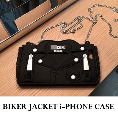 BIKER JACKET i-PHONE CASE(6/6S/6+.6S+/7/7+)