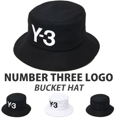 HIGH QUALITY NUMBER THREE LOGO BUCKET HAT(BLACK-WHITE/WHITE/ALLBLACK)