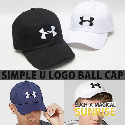 SIMPLE U LOGO BALL CAP