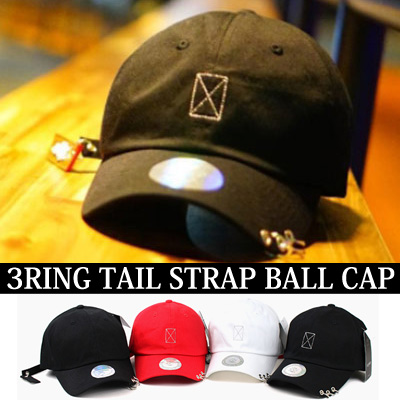 3RING TAIL STRAP BALL CAP