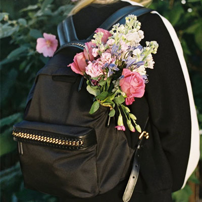 BIG ZIPPER BACKPACK(BLACK/KHAKI/NAVY)