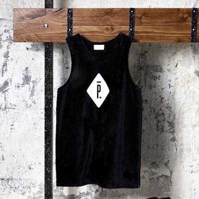 Piga * style zipper type tuck top SET (2Color)