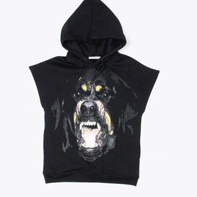 ★35%OFF SALE★15S / S GIVEN ** Y st. Rottweiler printing long-sleeved sweatshirt, no hooded sleeve (2TYPE)