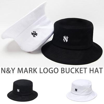 N&Y MARK LOGO BUCKET HAT(2COLORS)