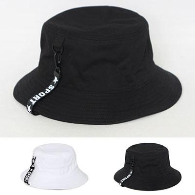 STAR LOGO TAPE BUCKET HAT/2colors