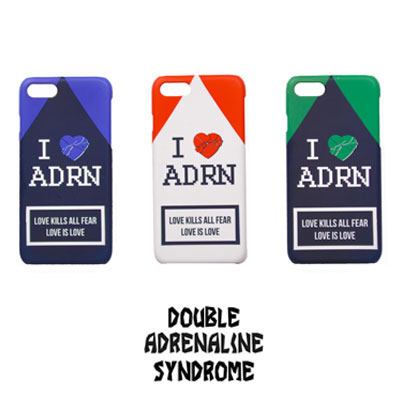 【2XADRENALINE】ADRN Phone Case/3COLORS/i-phone Case